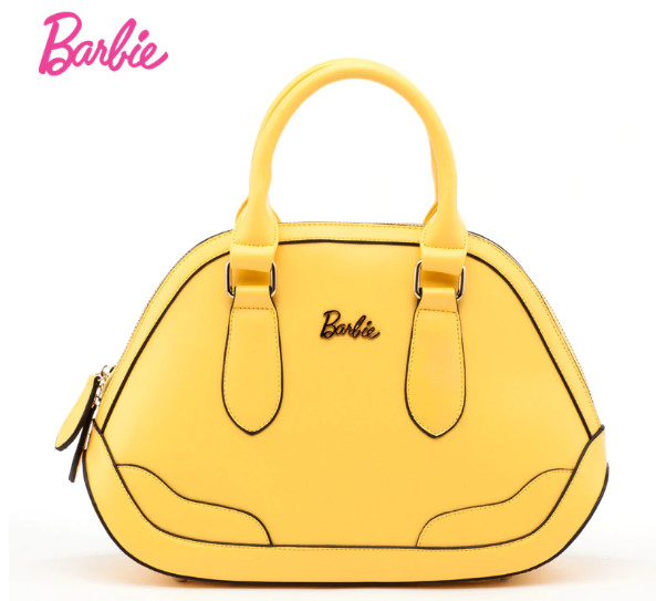 Bolsa Barbie Amarilla Rosa