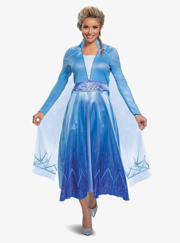 Cosplay Vestido Frozen Elsa