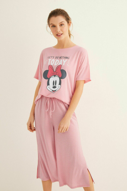 Pijama Minnie Mouse Rosa 20