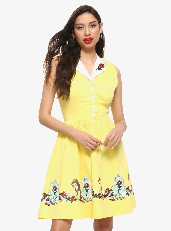 Vestido Bella Amarillo
