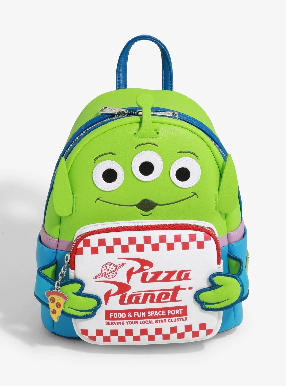 Bolsa Mochila Toy Story Alien Pizza Planeta