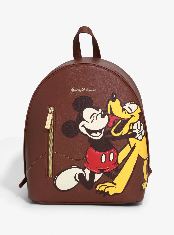 Bolsa Mochila Mickey Pluto S50