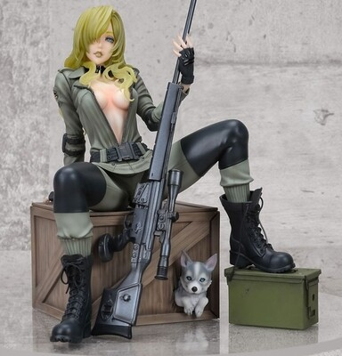 Bishoujo - Metal Gear - Sniper Wolf