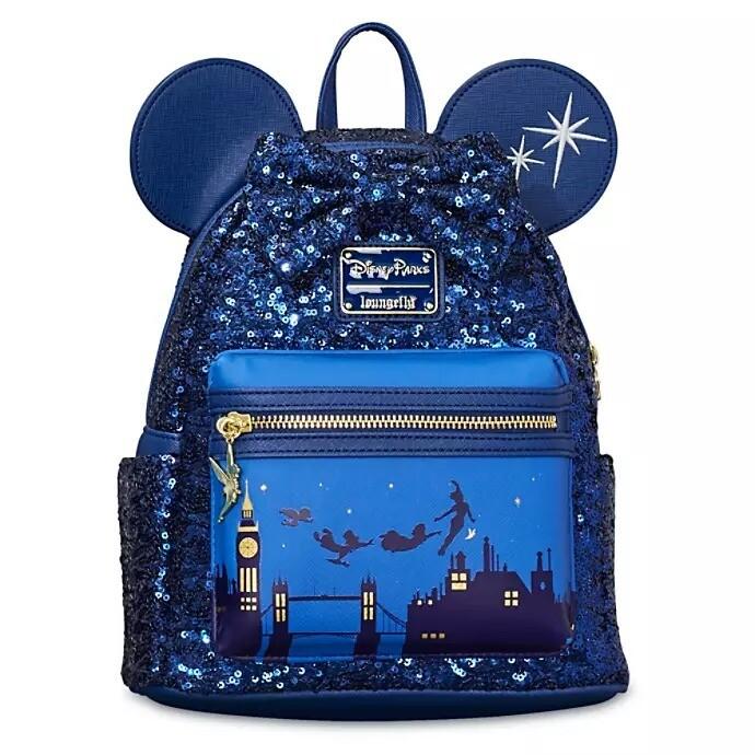 Bolsa Mochila Mickey Azul XF00
