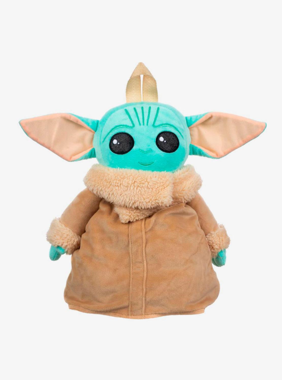 Bolsa Mochila Peluche Yoda Mandalorian