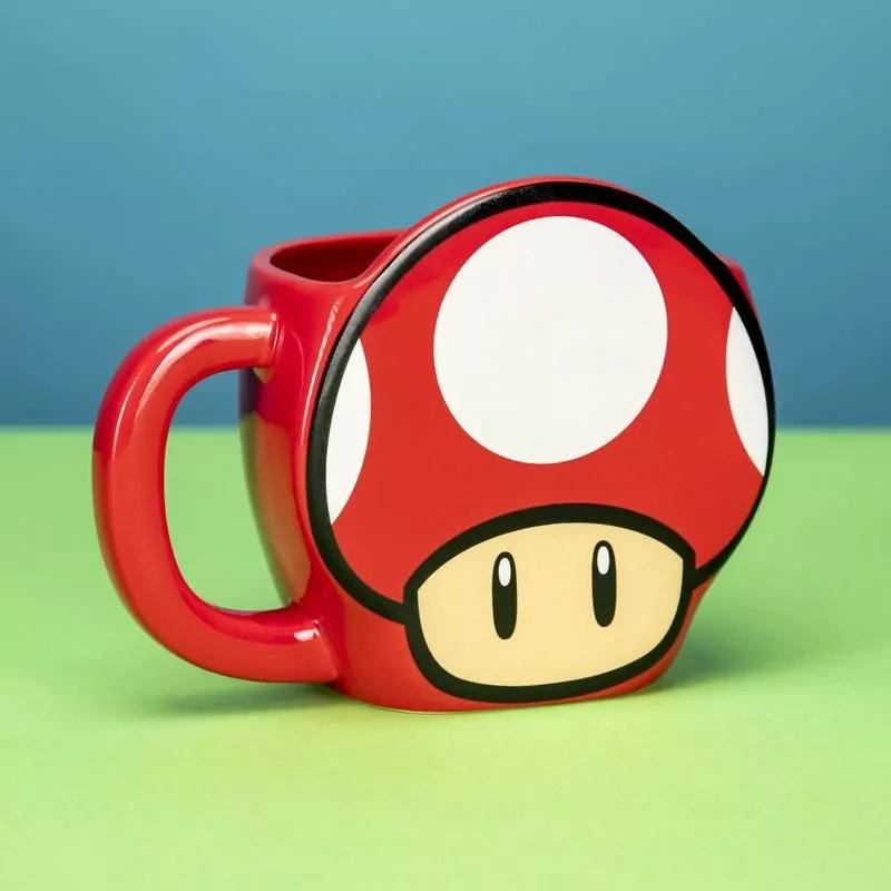 Taza Mario Bros Hongo Toad