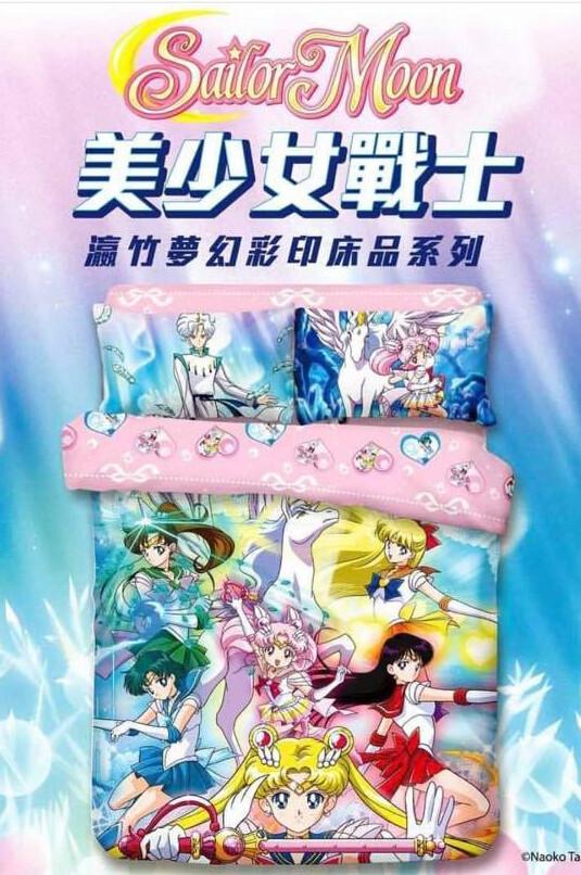 Set para Cama Sailor Moon x2021