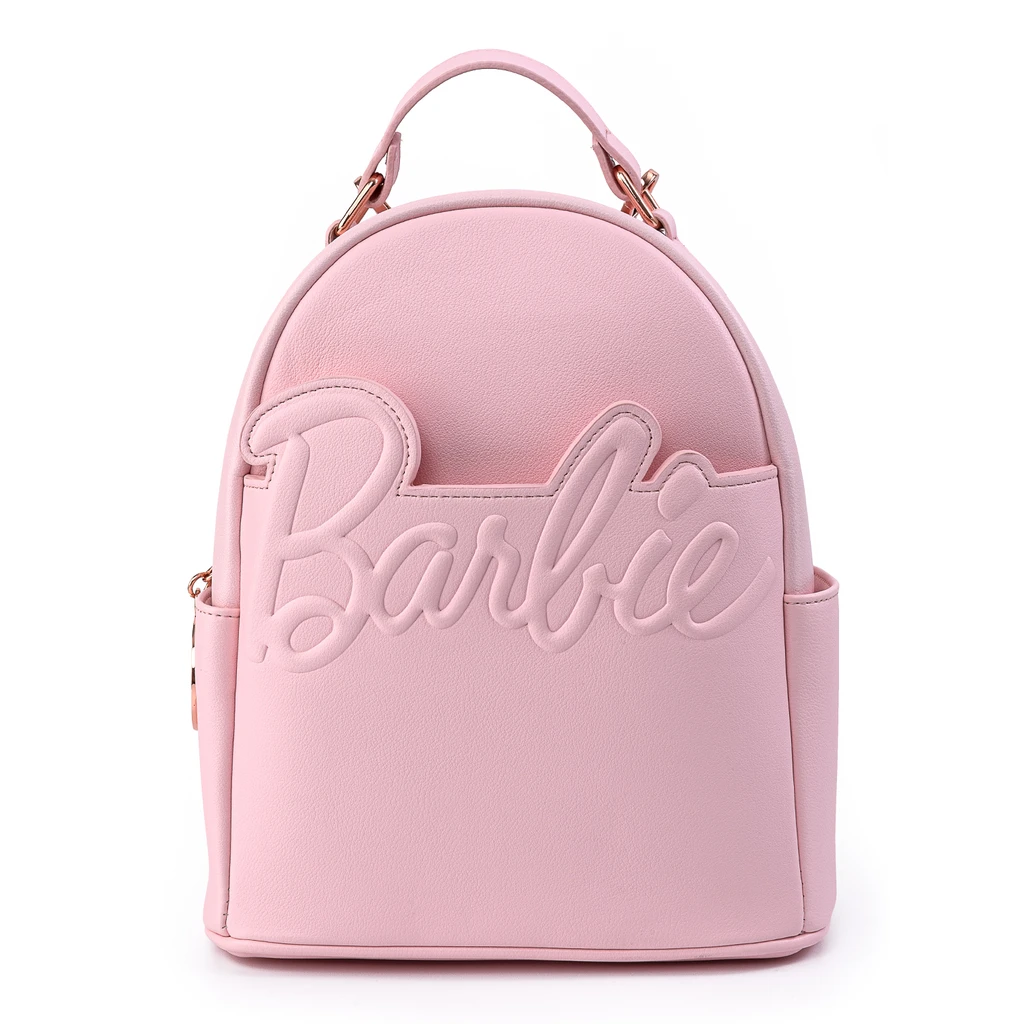 Bolsa Mochila Barbie Rosa K