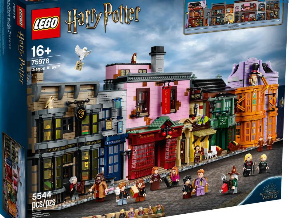 Lego Harry Potter Callejon Diagon