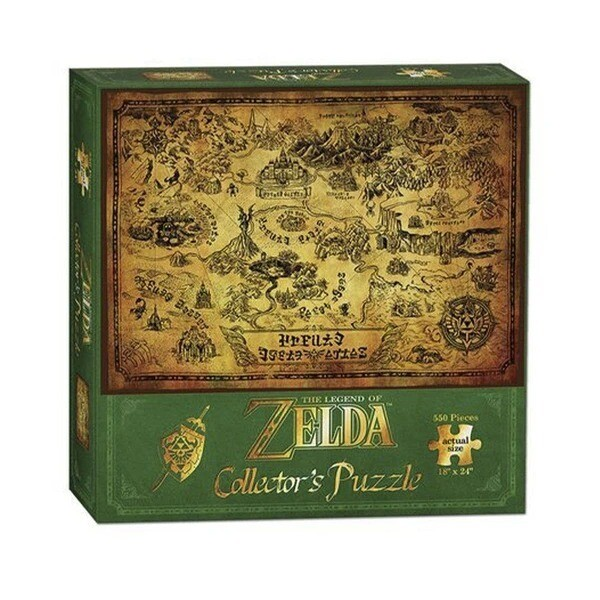 Rompecabezas The Legend Of Zelda Mapa