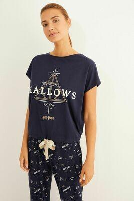 Pants Pijama Harry Potter Hallows X20