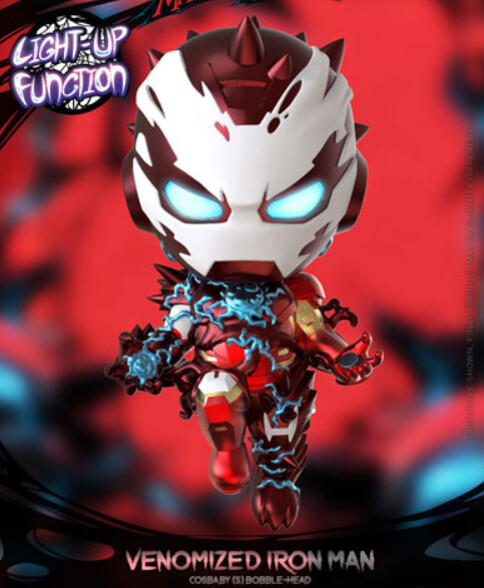 Figura Iron Man Venom Luces