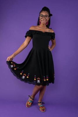 Vestido Coco Halloween 2020