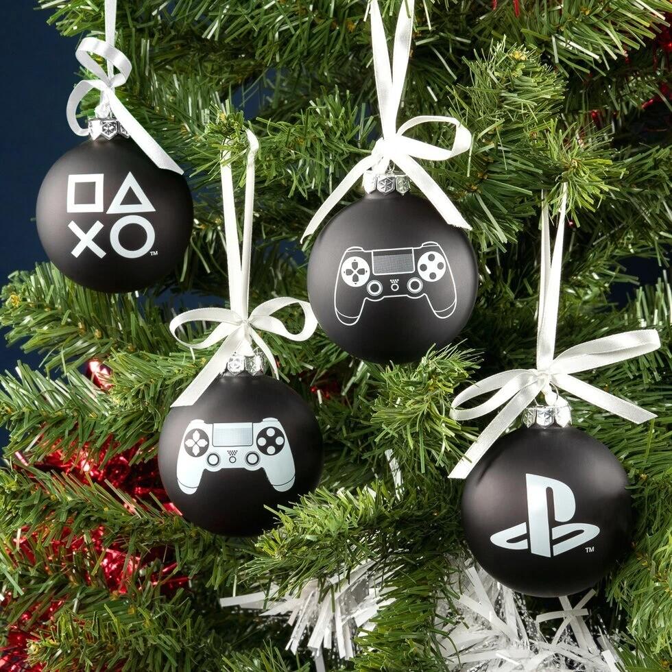 Esferas Navideñas Playstation