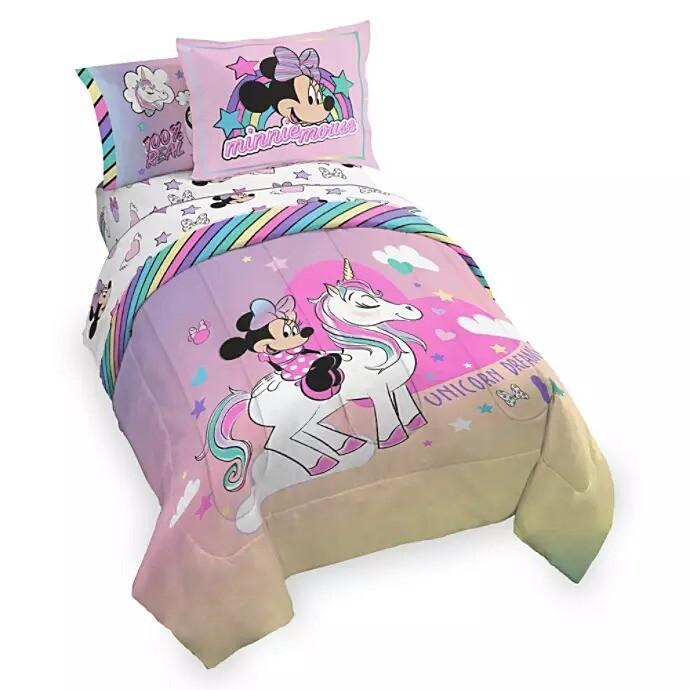Set para Cama Minnie Unicornio