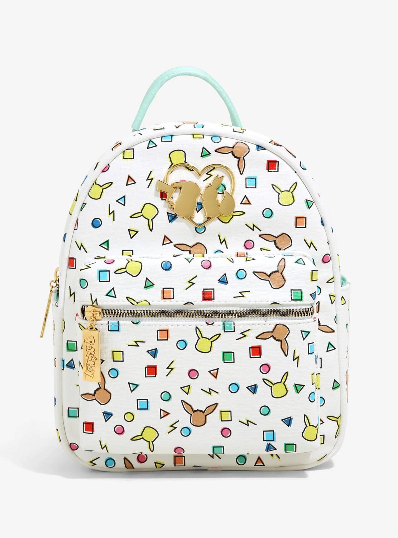 Bolsa Mochila Pikachu & Eevee Retro
