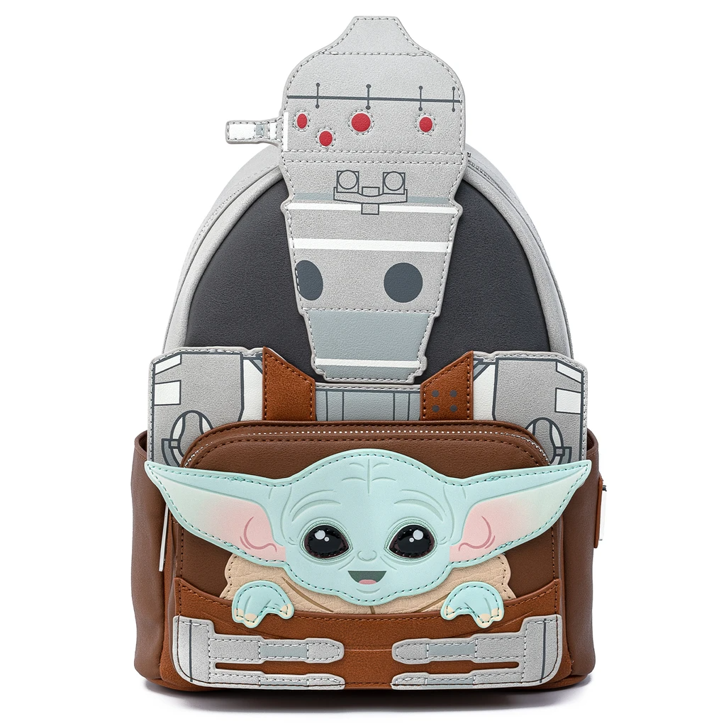 Bolsa Mochila Star Wars Yoda Mandalorian NV