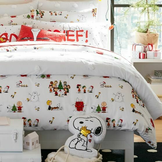 Set para Cama Snoopy Navidad 2020