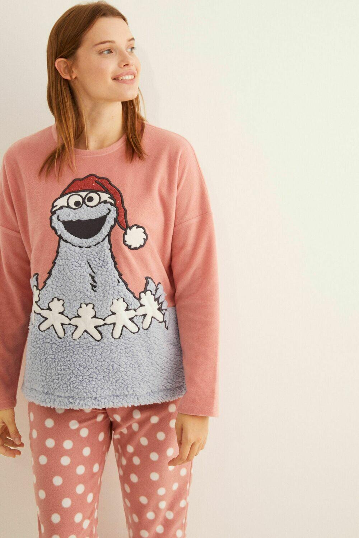 Pants Pijama Plaza Sesamo Navidad