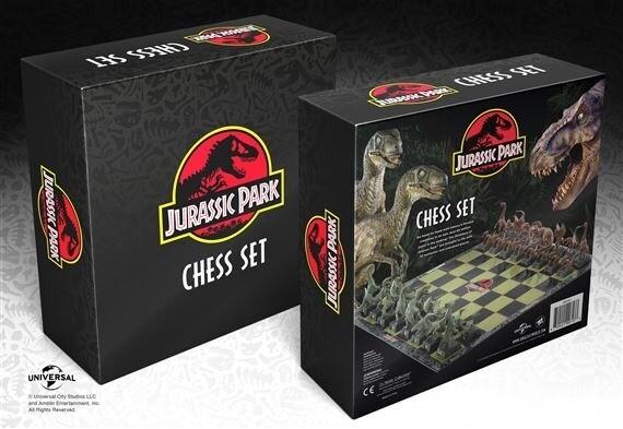 Ajedrez Jurassic Park