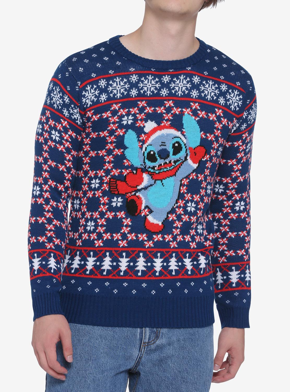 Sueter Navideño Lilo & Stitch Santa