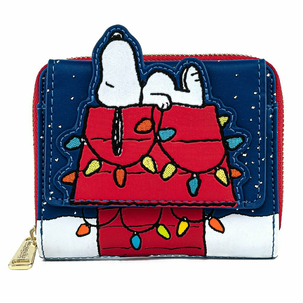 Cartera Snoopy Navidad