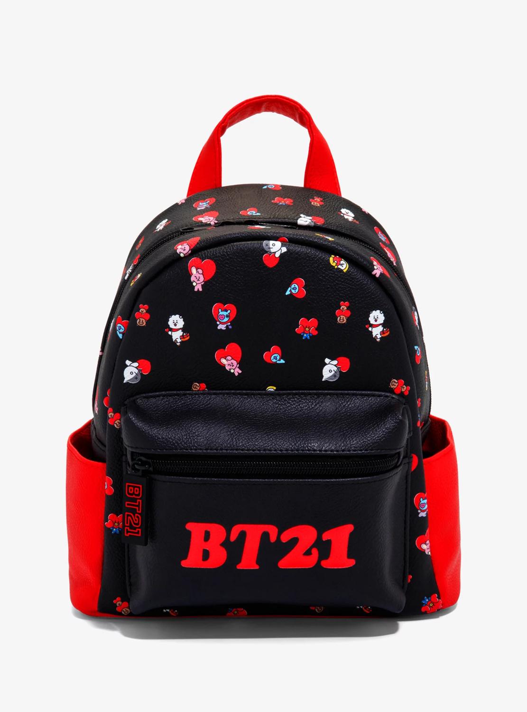Bolsa Mochila BT21 Corazones