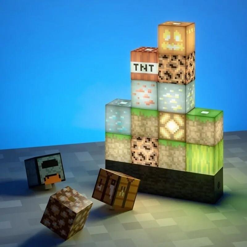 Lampara Bloques Minecraft