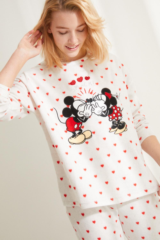 Pants Pijama Mickey Minnie Amor 14 Feb