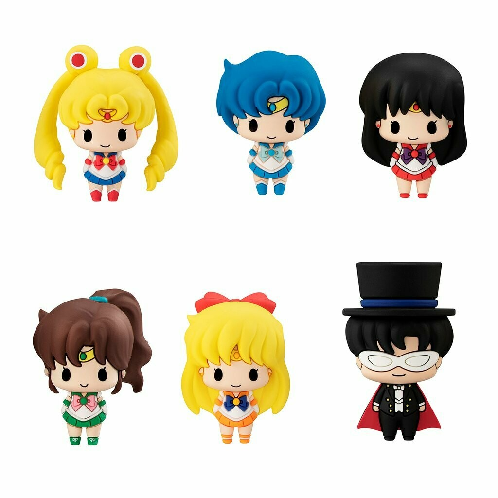 Mini Figuritas Sailor Moon Chibis