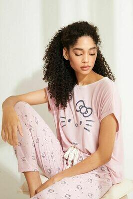 Pants Pijama Hello Kitty Rosa x20