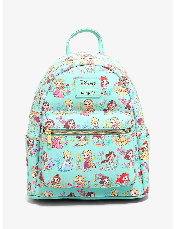 Bolsa Mochila Disney Princess Chibi