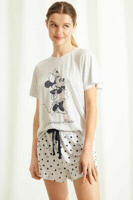 Shorts Pijama Minnie Mouse 2021