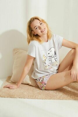 Pijama Shorts Snoopy 2021