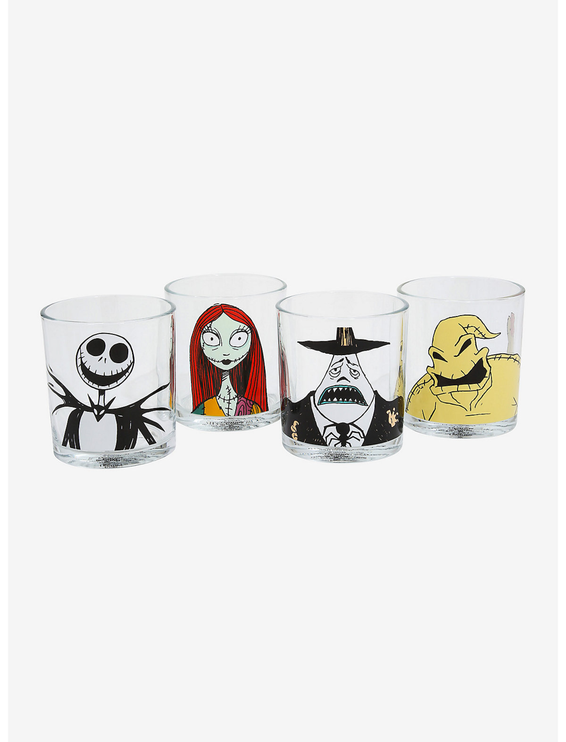 Set Vasos NIGHTMARE BEFORE XMAS