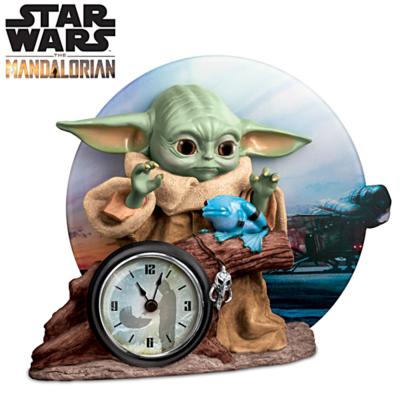 Reloj Alarma STAR WARS Mandalorian Bebe Yoda