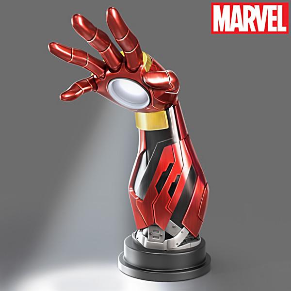 Lampara Exclusiva Iron Man Marvel