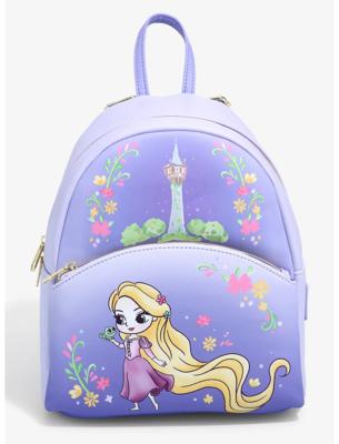 Mochila Princesa Disney Rapunzel Kawaii Chibi