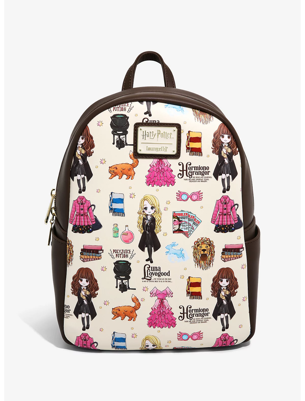 Bolsa Mochila Harry Potter Luna & Hermione