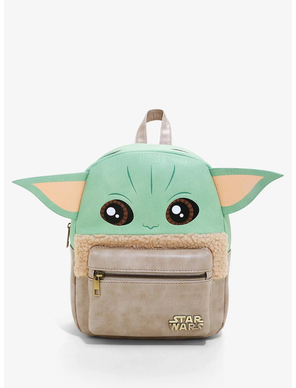 Bolsa Mochila Bebe Yoda Mandalorian