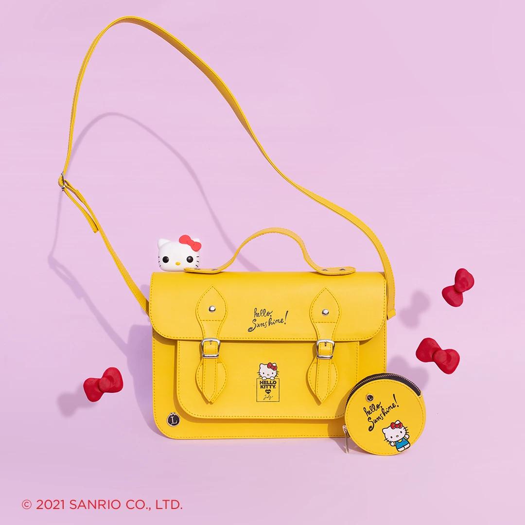 Bolsa Hello Kitty Amarilla 2021