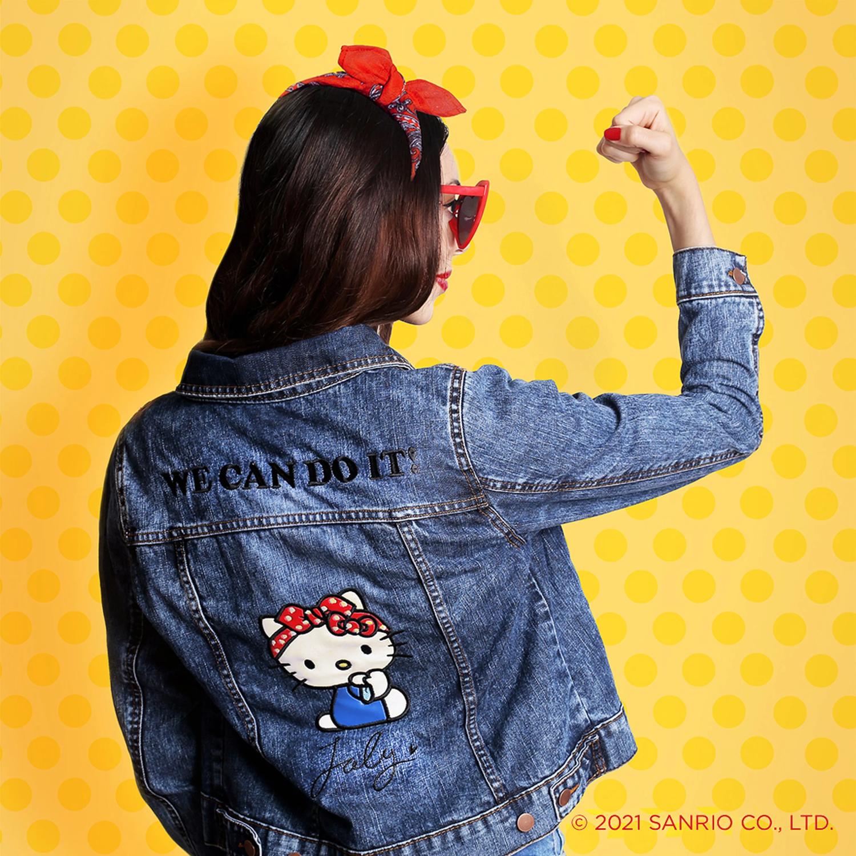 Chamarra Mezclilla Hello Kitty