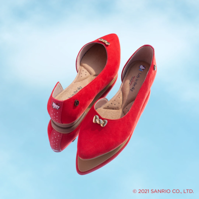 Zapatos Rojos Hello Kitty 2021
