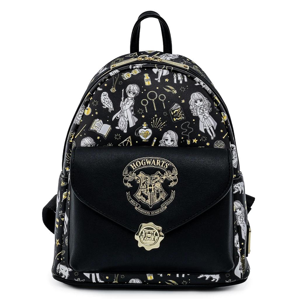 Bolsa Mochila Harry Potter Elementos Magicos