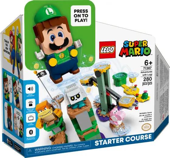 LEGO Super Mario Luigi SC