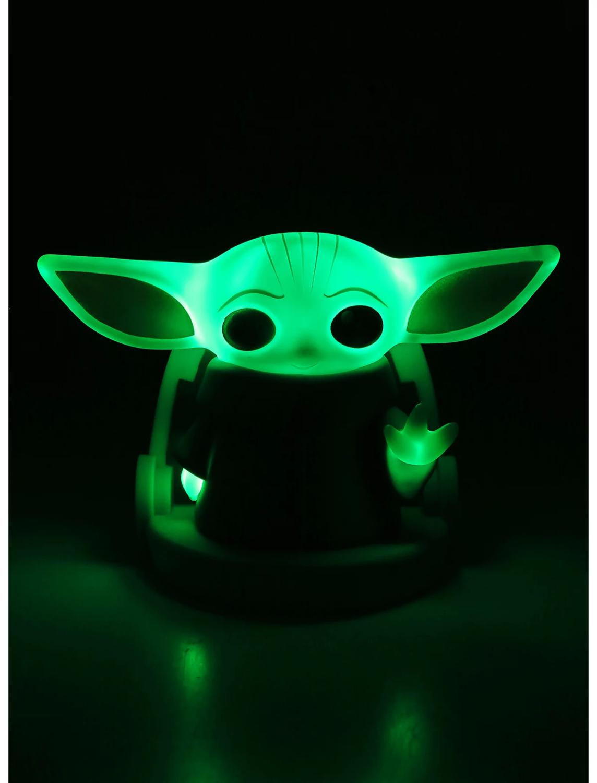 Lampara Yoda Mandalorian Luz 21