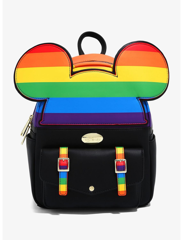 Bolsa Mochila Mickey Mouse Arcoiris x2021
