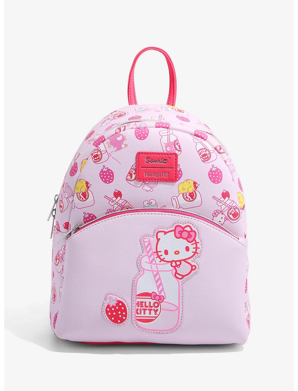 Bolsa Mochila Hello Kitty Fresas