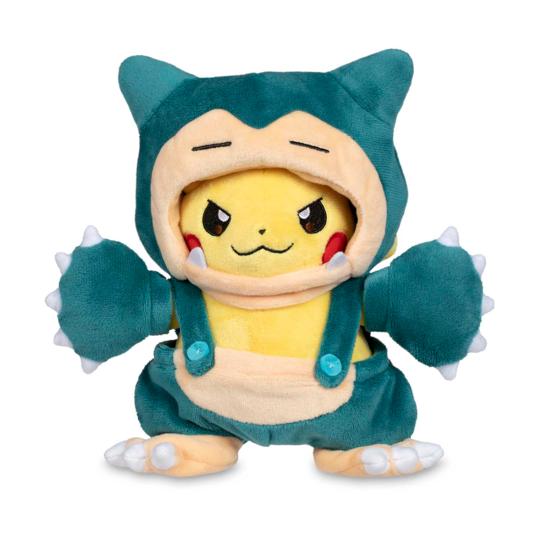 Peluche Pokemon Pikachu Snorlax