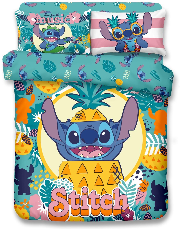 Set para Cama lilo y stitch Piñas 21